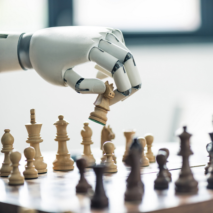 Machine learning allows a robot to play chess